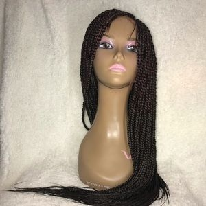 Accessories - Frontal braided wig with baby hair